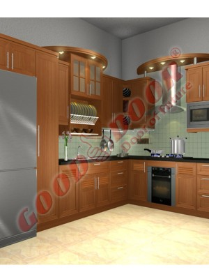 Kitchen Cabinet solid-5