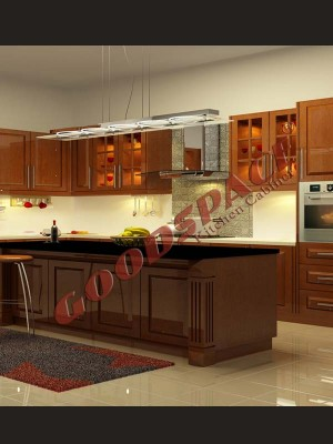 Kitchen Cabinet solid-3